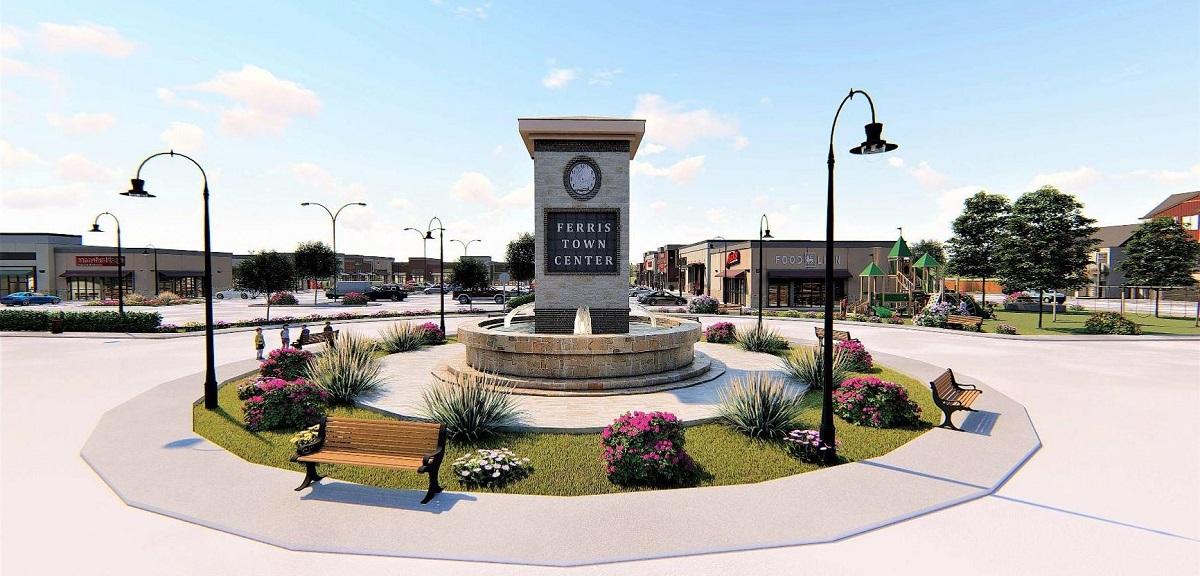 Ferris Town Center Concept